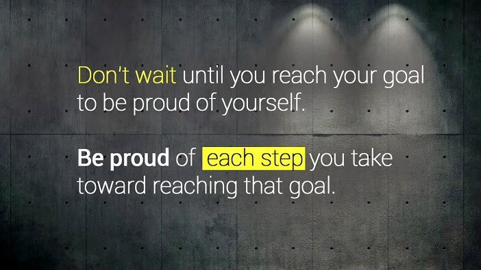 Motivational Quote about Goals